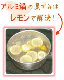 レモンで解決!